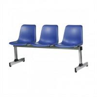 صندلی انتظار سه نفره مدل پروفیلی کد M213
