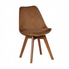 صندلی پایه کلاف با روکش پارچه طرح ماهان مدل A620L