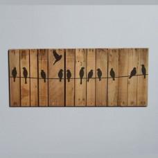تابلو چوبی پرنده کد 78